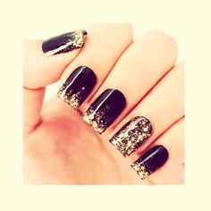 Glitter Ombré Nails Step By Step #Beauty #Trusper #Tip