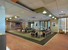 Portfolio | KSpace Design - Labor and Delivery Waiting Room at Indu and Raj Soin Medical Center