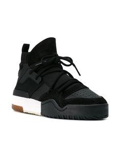 e859eb080 Adidas Originals By Alexander Wang AW BBall hi-top Sneakers - Farfetch