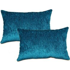 Shop for Eaton Teal Decorative Throw Pillow (Set of 2). Free Shipping on orders…