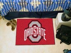 "MY TEAM MATS - Ohio State University Starter Mat  19"" X 30"", $17.99…"