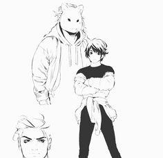 Bl Comics, Manga Comics, Boy Character, Big Bad Wolf, Comics Online, Bleach Anime, Boy Art, Human Art, Shounen Ai