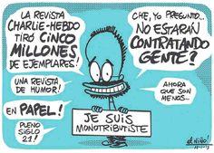 Más viñetas de Charlie :: FIN DE SEMANA :: DsD - El Niño Rodríguez - Argentina §
