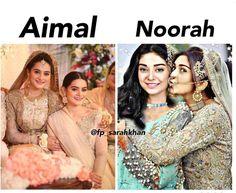 Makeup And Beauty Blog, Beauty News, Makeup Tips, Aiman Khan, Bridal Photoshoot, Sister Love, Twin Sisters, Bollywood Fashion, Pakistani