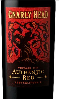 gnarly head 2013 authentic red lodi california usa 135 alcohol 17 a blend of authentic oak red wine