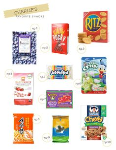 toddler and baby snacks