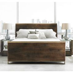 Modern Artisan Sleigh Bed | Star Furniture | Star Furniture | Houston, TX  Furniture |