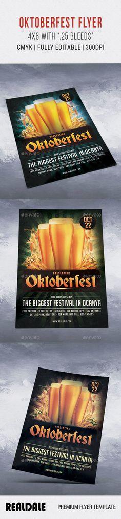 Octoberfest / Oktoberfest Flyer