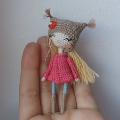 ♡ Amigurumi crochet doll. (Inspiration). ♡