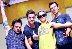 Tom Fletcher - Danny Jones - Harry Judd - Dougie Poynter - McFly
