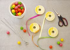 DIY: Gumball necklaces—lovely and yummy! #birthday #party