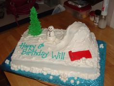 Winter Play Land  on Cake Central