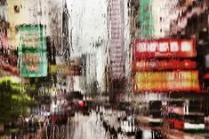 Absolutely beautiful series by Paris-based photographer Christophe Jacrot. via Christophe Jacrot's website Rain Photography, Photography Series, Color Photography, Street Photography, Cinematic Photography, Stunning Photography, Photography Gallery, Saul Leiter, Christophe Jacrot