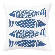 Found it at Wayfair - 4 Fish Indoor/Outdoor Throw Pillow