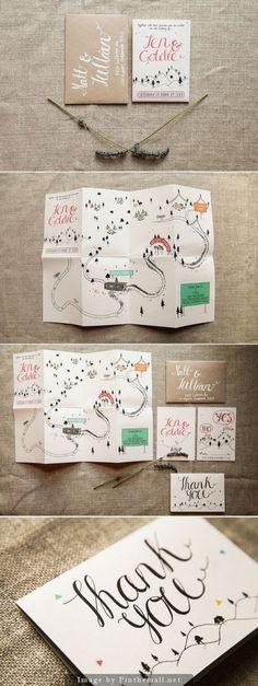 Wedding Invite | Map