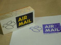 Airmail stamp 60