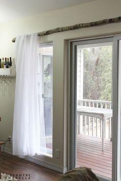 Décoration tringle à rideaux