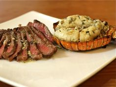Grilled Steak & Lobster Tails Recipe on Yummly
