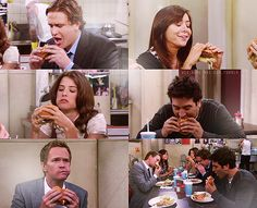 "The most amazing tv series ever! this episode is called ""best burger ever""... mmh I feel like having a burger!"