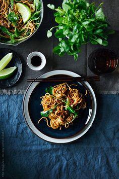 Chow main dish by Ellie Baygulov for Stocksy United