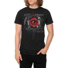 Alice In Chains Hollow Eye T-Shirt | Hot Topic ($15)