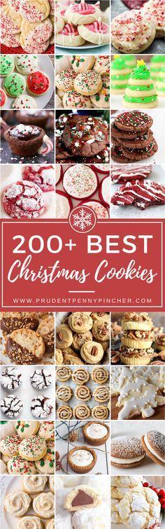 200 Best Christmas Cookies