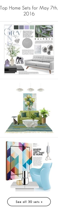 """""""Top Home Sets for May 7th, 2016"""" by polyvore ❤ liked on Polyvore featuring interior, interiors, interior design, home, home decor, interior decorating, TrueModern, Umbra, Urban Outfitters and NDI"""