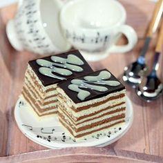 Hungarian cake (Mađarica) is a traditional Balkan festive layered chocolate cake (in Croatian with translator)