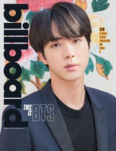 #JIN BTS FOR BILLBOARD ♥️