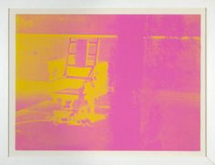 Andy Warhol, Electric Chair (F&S 82) (1971) ANDY WARHOL Electric Chair (F&S 82), 1971 Screenprint printed on white paper 35 1/2 × 48 in 90.2 × 121.9 cm Edition 60/250 Heather James Fine Art