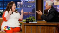 Melissa McCarthy Does Her Own Stunts - The Tonight Show with Jay Leno
