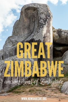 The Great Zimbabwe ruins are the largest ruins in Zimbabwe and home to origins of the country, including its name. Here's what you need to prepare for a visit. Africa Destinations, Travel Destinations, Holiday Destinations, Portugal, Ancient Ruins, Roadtrip, Travel Guides, Travel Tips, Travel Packing