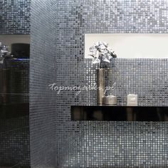 Mozaiki lustrzane. Złote i srebrne płytki | O mozaikach
