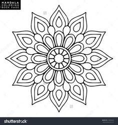 Orientalisches Muster, Vektorillustrati … – DIY and crafts - Malvorlagen Mandala Mandala Motif, Mandala Pattern, Mosaic Patterns, Mandala Book, Mandala Drawing, Mandala Painting, Dot Painting, Mandala Coloring Pages, Coloring Book Pages
