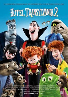 Directed by Genndy Tartakovsky. With Adam Sandler, Andy Samberg, Selena Gomez, Kevin James. Dracula and his friends try to bring out the monster in his half human, half vampire grandson in order to keep Mavis from leaving the hotel. Kevin James, Steve Buscemi, Andy Samberg, Adam Sandler, Kid Movies, Cartoon Movies, Dracula, Hotel Transylvania 2 Movie, Beste Hotels