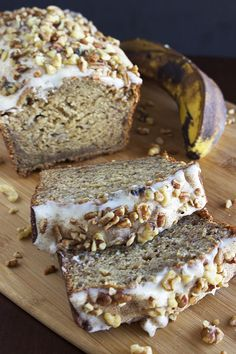 Cream Cheese Banana Bread. Very easy recipe! Can't wait to try it out!