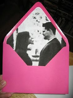 The DIY Bride: Envelope Liners