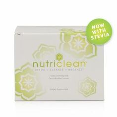 NutriClean® 7-Day Cleansing System with Stevia