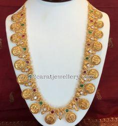 Antique Gemstone Ram Leela Haram - Jewellery Designs