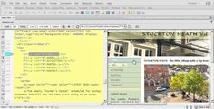 Split View in Adobe Dreamweaver CC is the best of both worlds! With code on the left and design on the right, troubleshooting and tweaking your page is easy. Pro Tip: Activate both the Live Code and Inspect features, from within Split View, to reveal page details dynamically. Learn more from presenter Mark Struthers in the full 'Total Training for Adobe Dreamweaver CC' training series with your http://totaltraining.com/ subscription.  #adobe #dreamweaver #totaltraining #Creativecloud #webdes