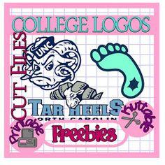 The Scrapoholic : 25 Days of College Logos Cut Files! North Carolina