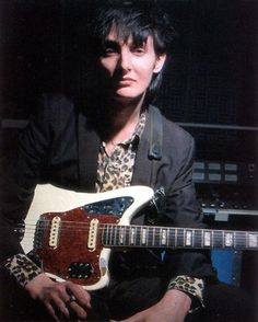 He played that fender jaguar until his last gig a few months ago. Back in the early 90′s when he came back to Melbourne, he hocked it. Someo...
