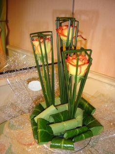 Image - roses dans le jonc - Art floral - Skyrock.com