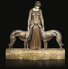 Demètre Chiparus, The Art Deco Sculptor - Friends Forever sold for over USD 14,000.00 at auction