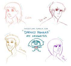 simon chloe darkest powers - Google Search