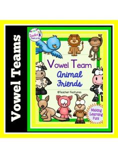 Looking for a simple literacy answer to help your students understand when to use a particular spelling and when not to? These animal visuals will help your kiddos remember the sounds and spellings for common vowel combinations found in Grades 1-3.