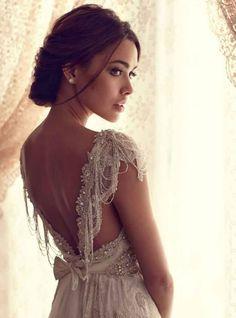 Vestidos de novia con un toque bordado… *SOLO INSPIRACIÓN para ver mas vestidos de novia bordados: http://www.wedstyle.com.ar/wedstyle/blog/proveedor/vestidos-bordados/