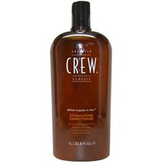American Crew Daily Stimulating Conditioner, 33.8 Ounce - Thi is an organic, energizing conditioner that invigorates the hair and scalp. It is fortified with panama bark extract providing a fresh minty fragrance that leaves your hair and scalp feelin