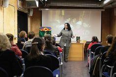 24 de marzo 2015. Encuentro literario con Llanos Campos.