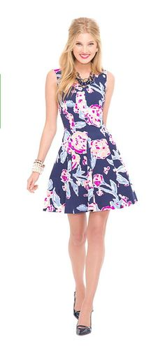 preppy party dress / lilly pulitzer